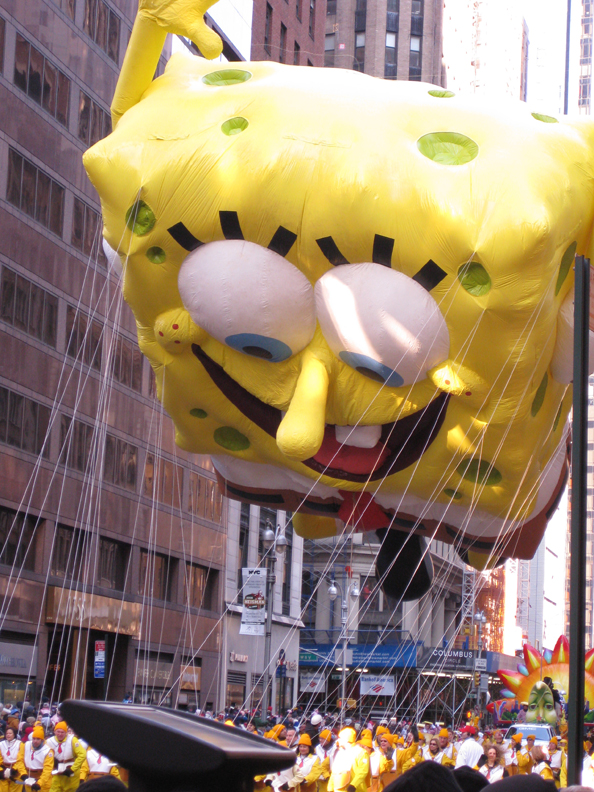 Macy's Thanksgiving Day Parade Sponge Bob Square Pants Balloon
