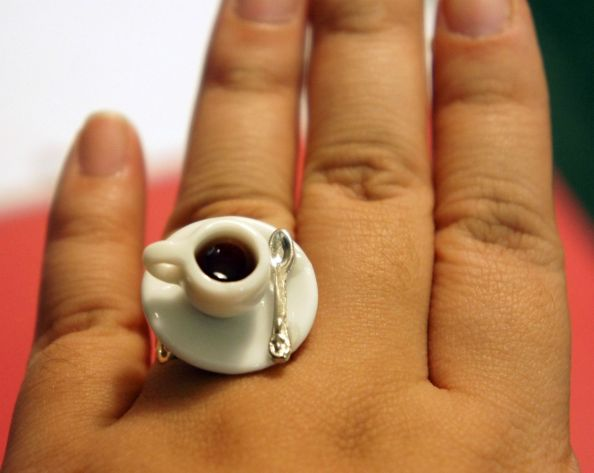 Plastic Coffee Cup Ring
