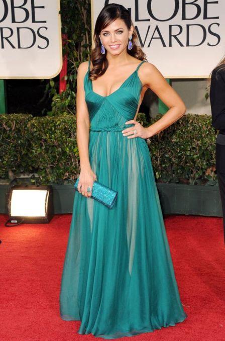 Jenna Dewan in Maria Lucia Hohan Golden Globes 2012