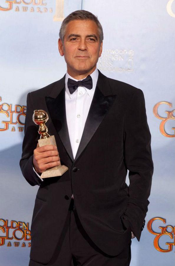 Geoge Clooney wins Golden Globe for Best Actor