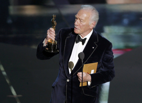 Christopher Plummer at The 2012 Academy Awards