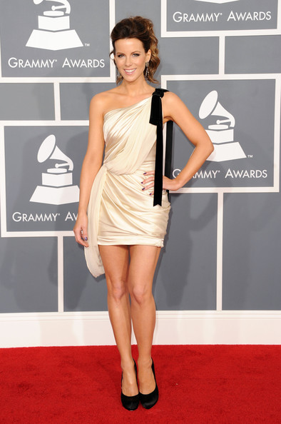 Kate Beckinsale at the 2012 Grammy Awards