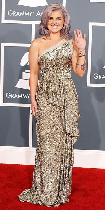 Kelly Osbourne at the 2012 Grammy Awards