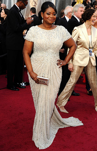 Octavia Spencer at The 2012 Academy Awards