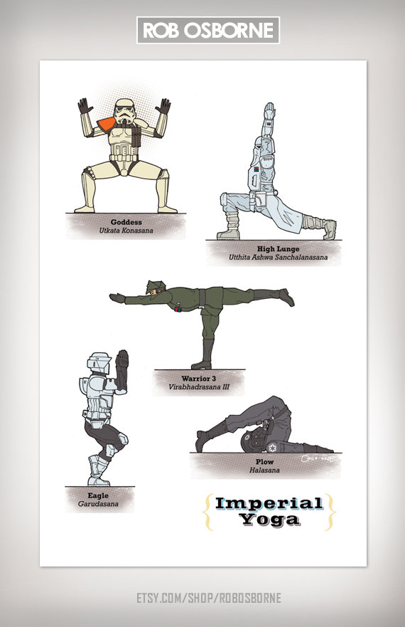 Star Wars Yoga Imperial