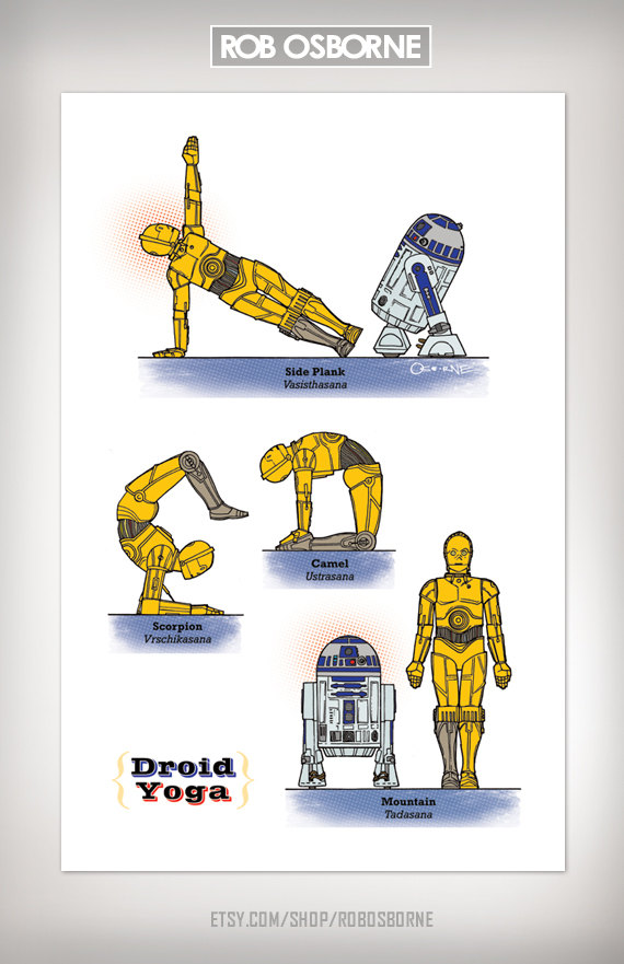 Star Wars Yoga Droid