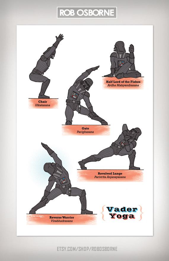 Star Wars Yoga Vader