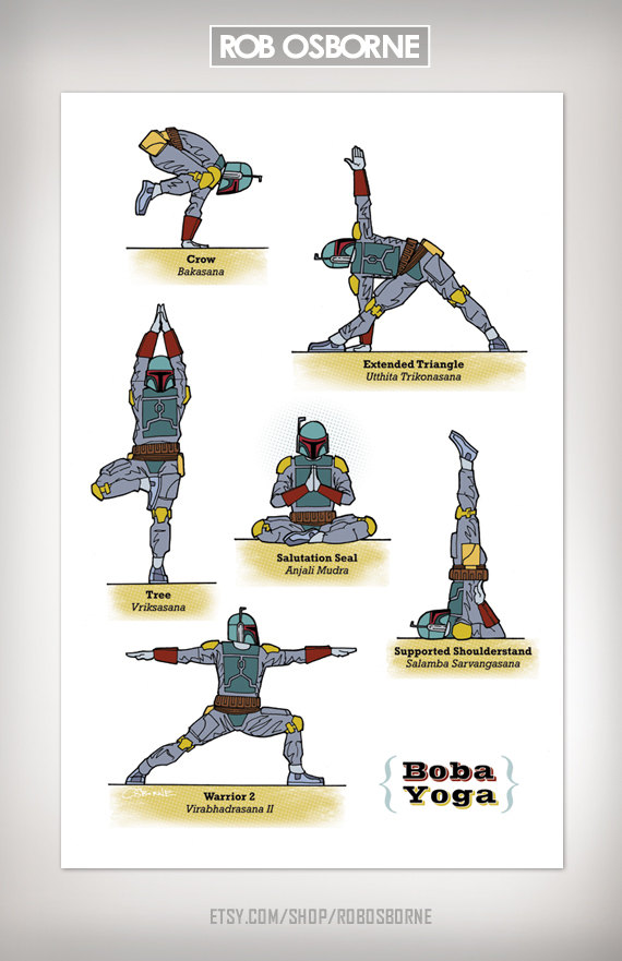Star Wars Yoga Boba