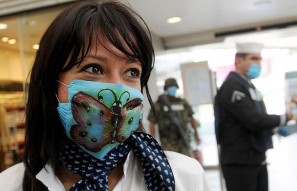 Surgical Masks The Cool Apocalypse butterfly