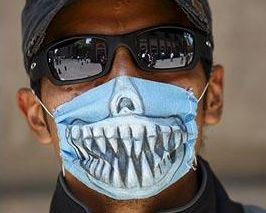 Surgical Masks The Cool Apocalypse teeth