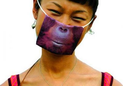 Surgical Masks The Cool Apocalypse monkey