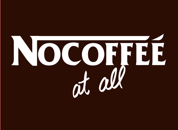 Nescafe Logo Parody by BananaPopArt