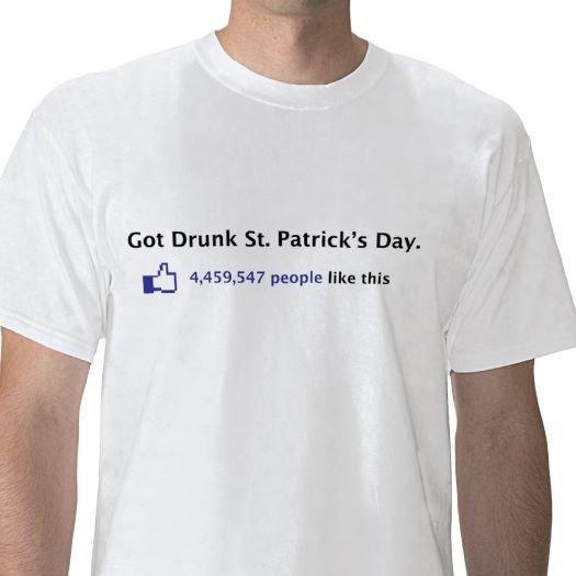 Got Drunk On St Patrick's Day
