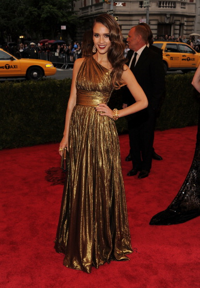 Jessica Alba at the 2012 Met Gala