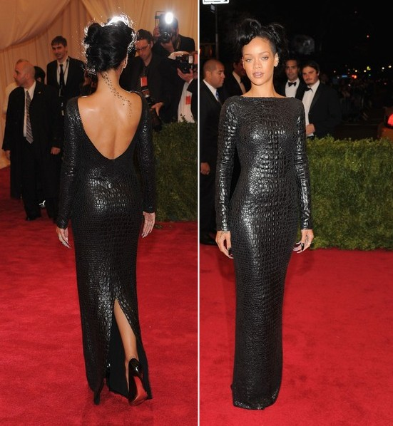 Rihanna at the 2012 Met Gala