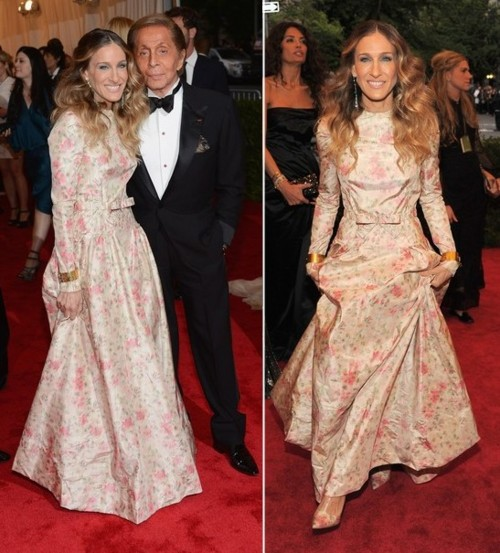 Sarah Jessica Parker at the 2012 Met Gala