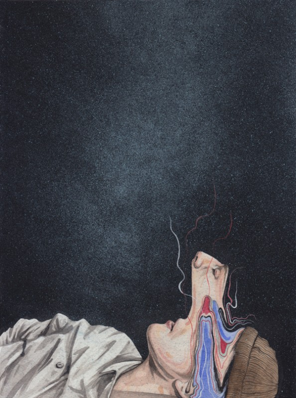 Henrietta Harris Drifting Faces Drawings - New York