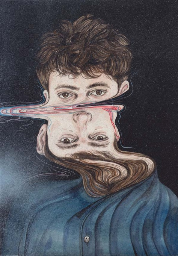 Henrietta Harris Drifting Faces Drawings - The Greatest