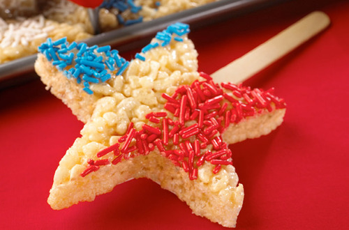 4th of July themed snack
