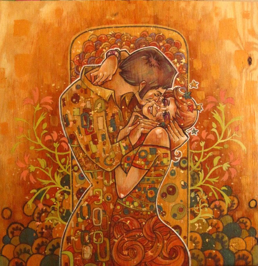 Gustav Klimt Modern Art