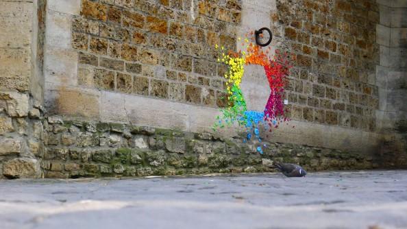 Mademoiselle Maurice Origami Street Art 12