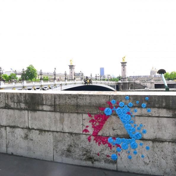 Mademoiselle Maurice Origami Street Art 15