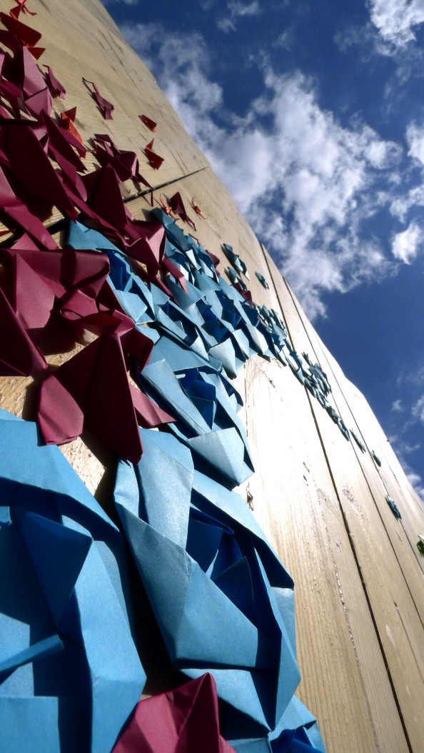 Mademoiselle Maurice Origami Street Art 17