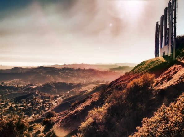 Behind the Hollywood Sign Project by Ted VanCleave 18