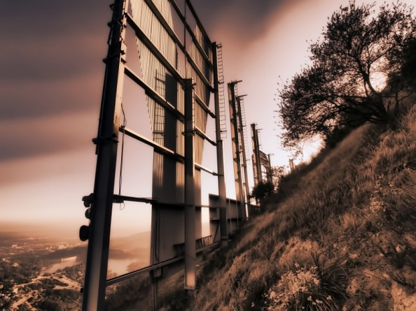 Behind the Hollywood Sign Project by Ted VanCleave 2