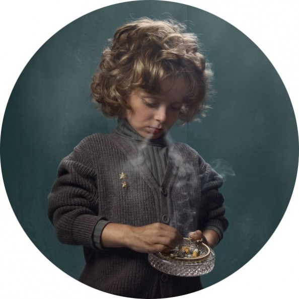 Frieke Janssens Photography Smoking Children Project 2