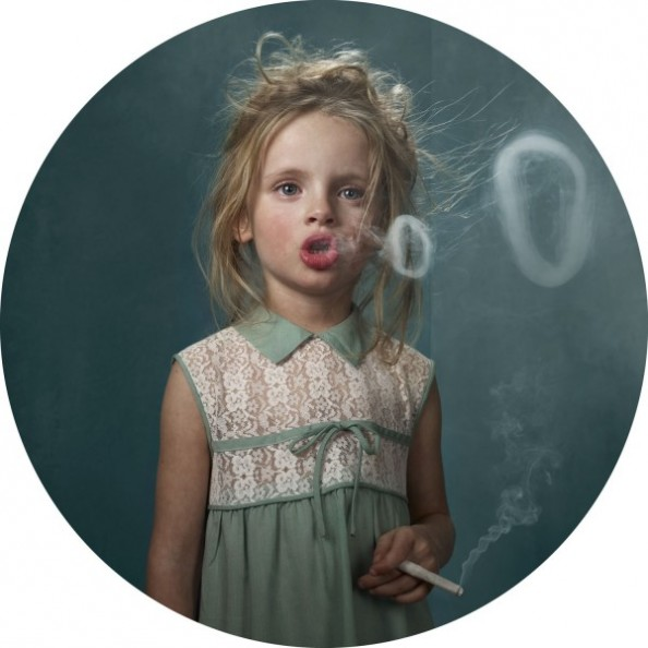Frieke Janssens Photography Smoking Children Project