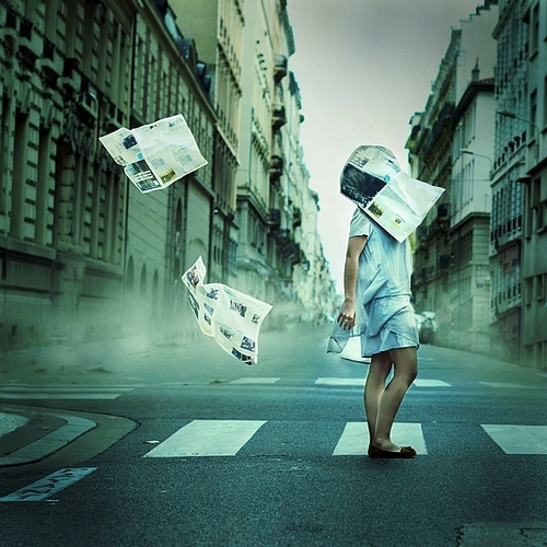 Julie de Waroquier Photography Surreal Streets 4