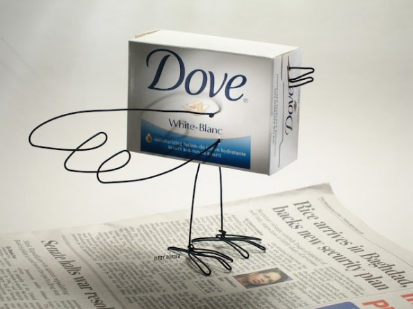 Terry Border Bent Objects Interview - Dove