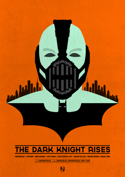 The Dark Knight Rises Movie Poster 8