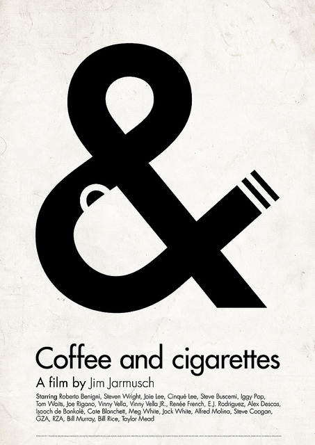Victor Hertz Pictogram Movie Posters - Coffee and cigarettes
