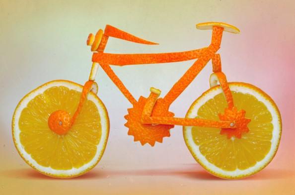 Dan Cretu Romanian Eco Artist - Food Sculptures 11