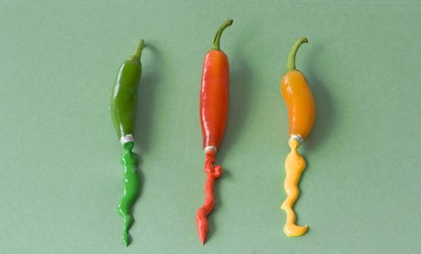 Dan Cretu Romanian Eco Artist - Food Sculptures 6