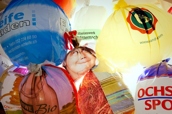 Luzzinterruptus Urban Installations - Plastic Bag Exhibition 2