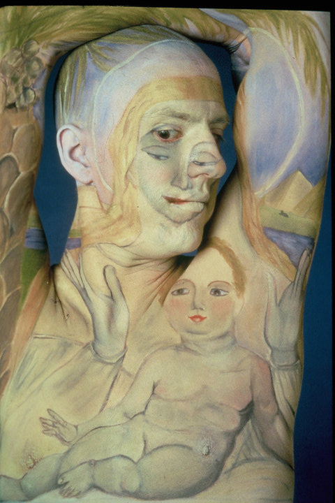 Museum Anatomy by Chadwick Gray and Laura Spector virgin-and-child-in-egypt-after-william-blake