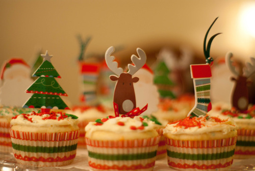 Christmas Cupcakes and Best Holiday Wishes from Mole Empire 10