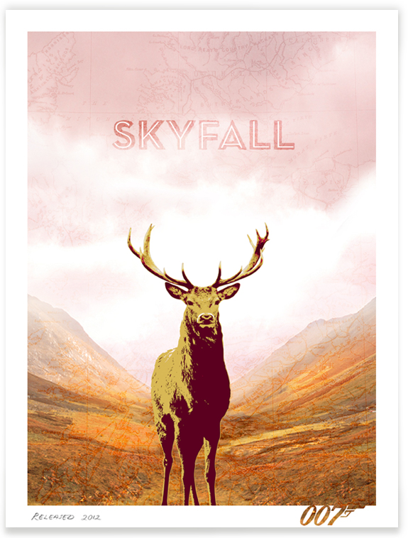 Skyfall Fan-made Movie Poster by Herring&Haggis