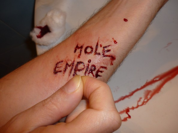 Carla Dias - Mole Empire under her skin 1 (Mole Empire imagined by others)