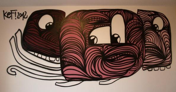 Kef Street Art 3 Aachen2012