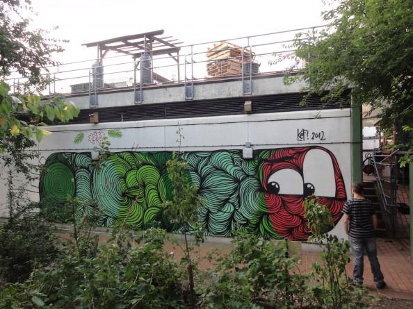 Kef Street Art 7 London2012