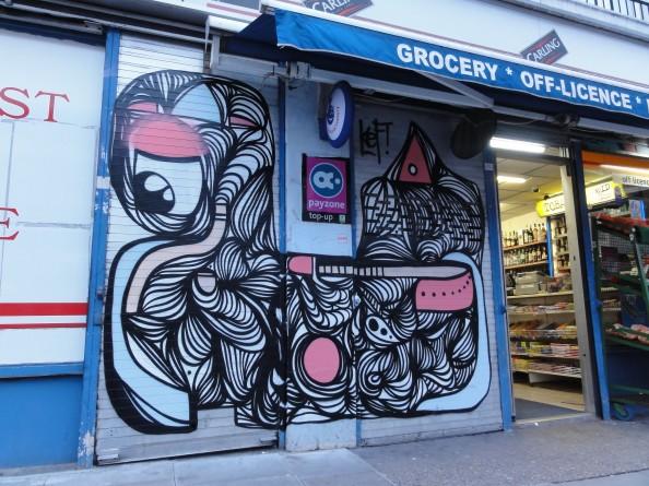 German Artist KEF - Grafitti Art 3