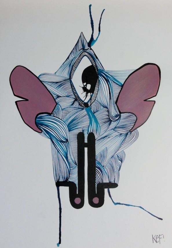 German Artist KEF - Grafitti Art 5