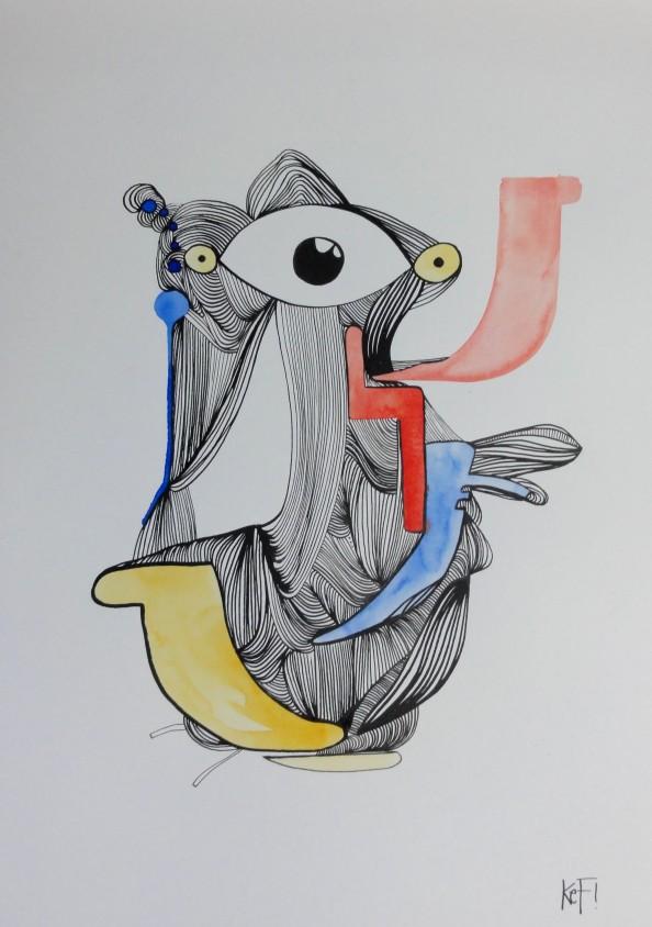 German Artist KEF - Grafitti Art 6