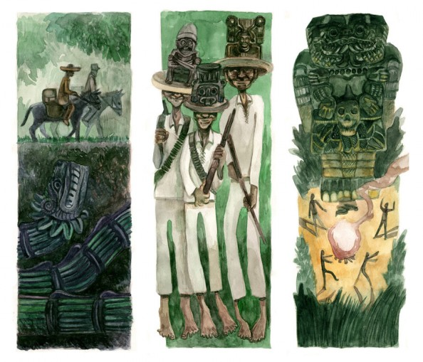 Huitzilopochtli, un cuento americano by Dario Mekler