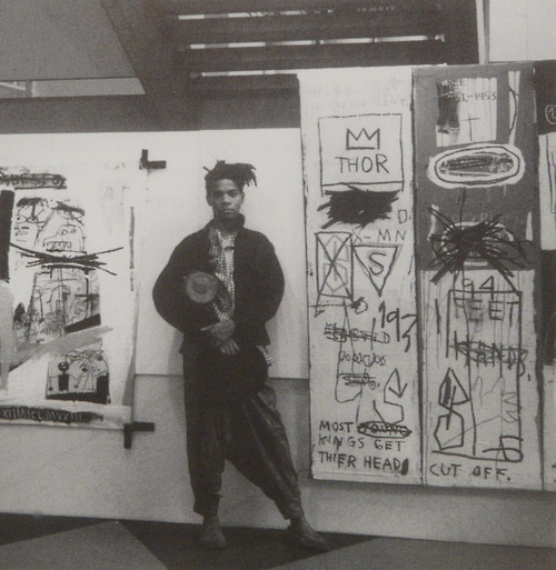 Jean-Michel Basquiat and his work, 1980s