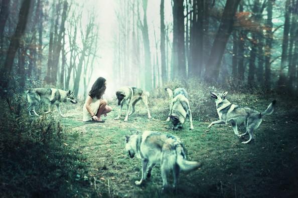 Julie de Waroquier 01Dances with wolves